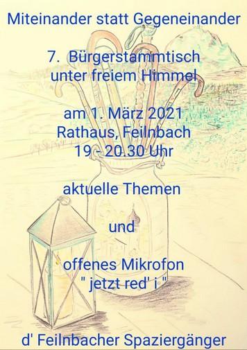 Buergerstammtisch Bad Feilnbach