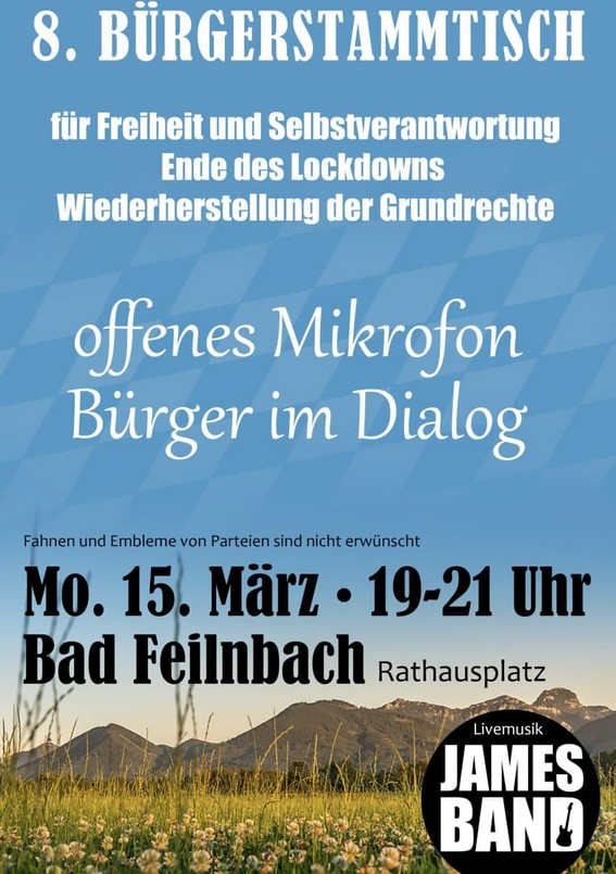 8. Bürgerstammtisch Bad Feilnbach