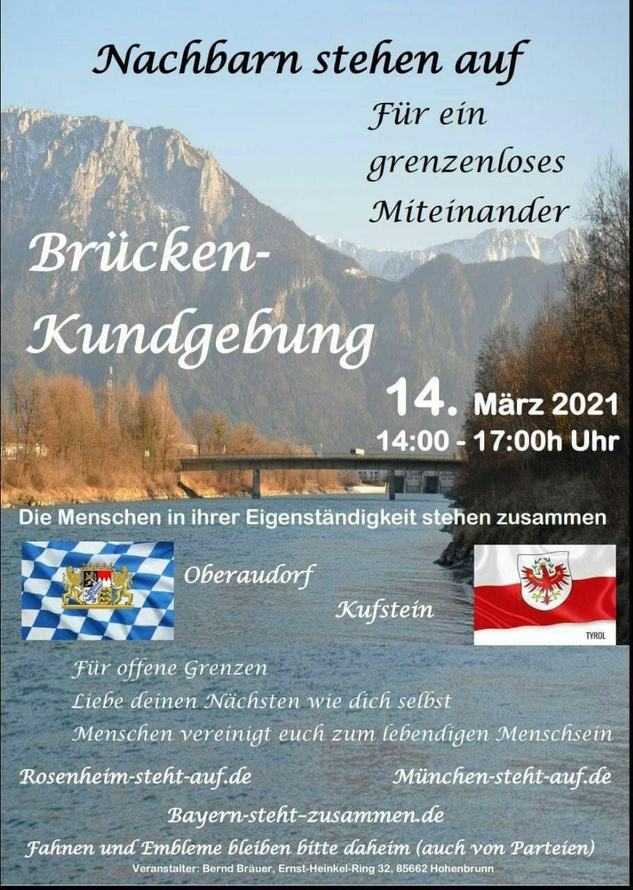 Brücken-Kundgebung