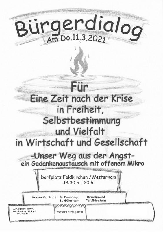Bürgerdialog Feldkirchen Westerham