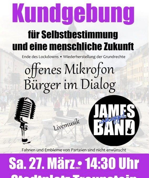 Traunstein – Bürger im Dialog – offenes Mikrofon