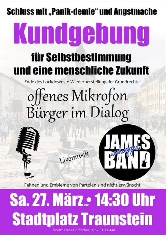 Traunstein Bürger im Dialog