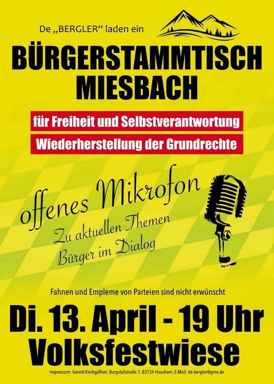 Bürgerstammtisch Miesbach
