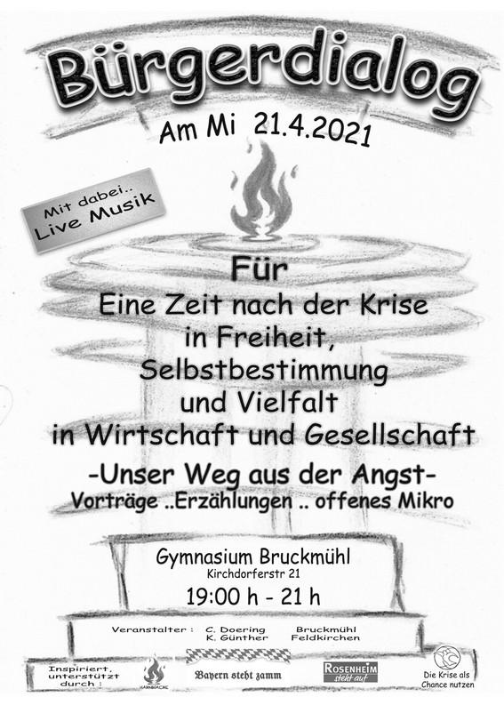 Kundgebung Bruckmühl