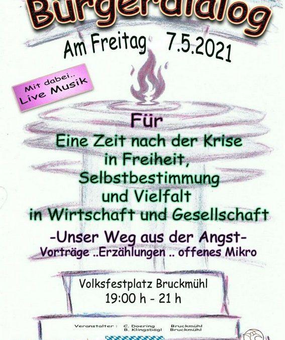 Bürgerdialog Bruckmühl 07.05.2021