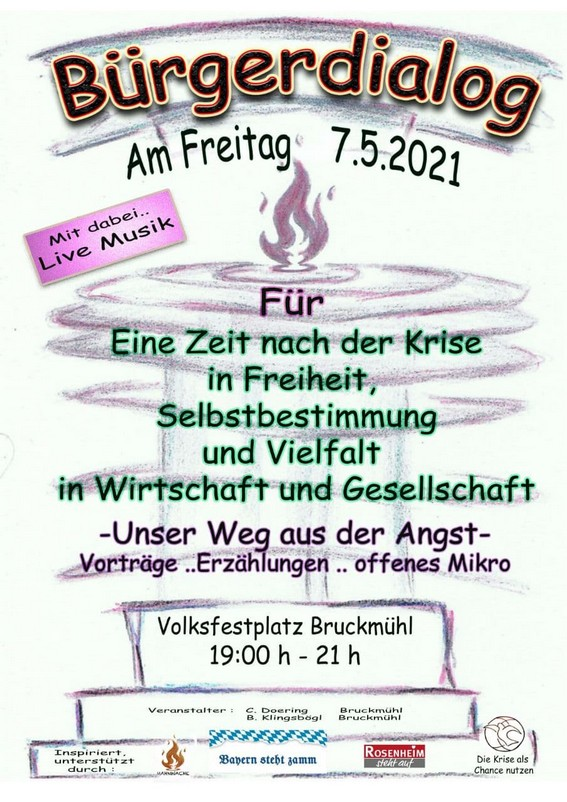 Bürgerdialog Bruckmühl 08.05.2021