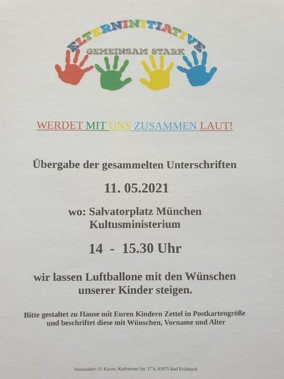 Elterninitiative 11.05.2021