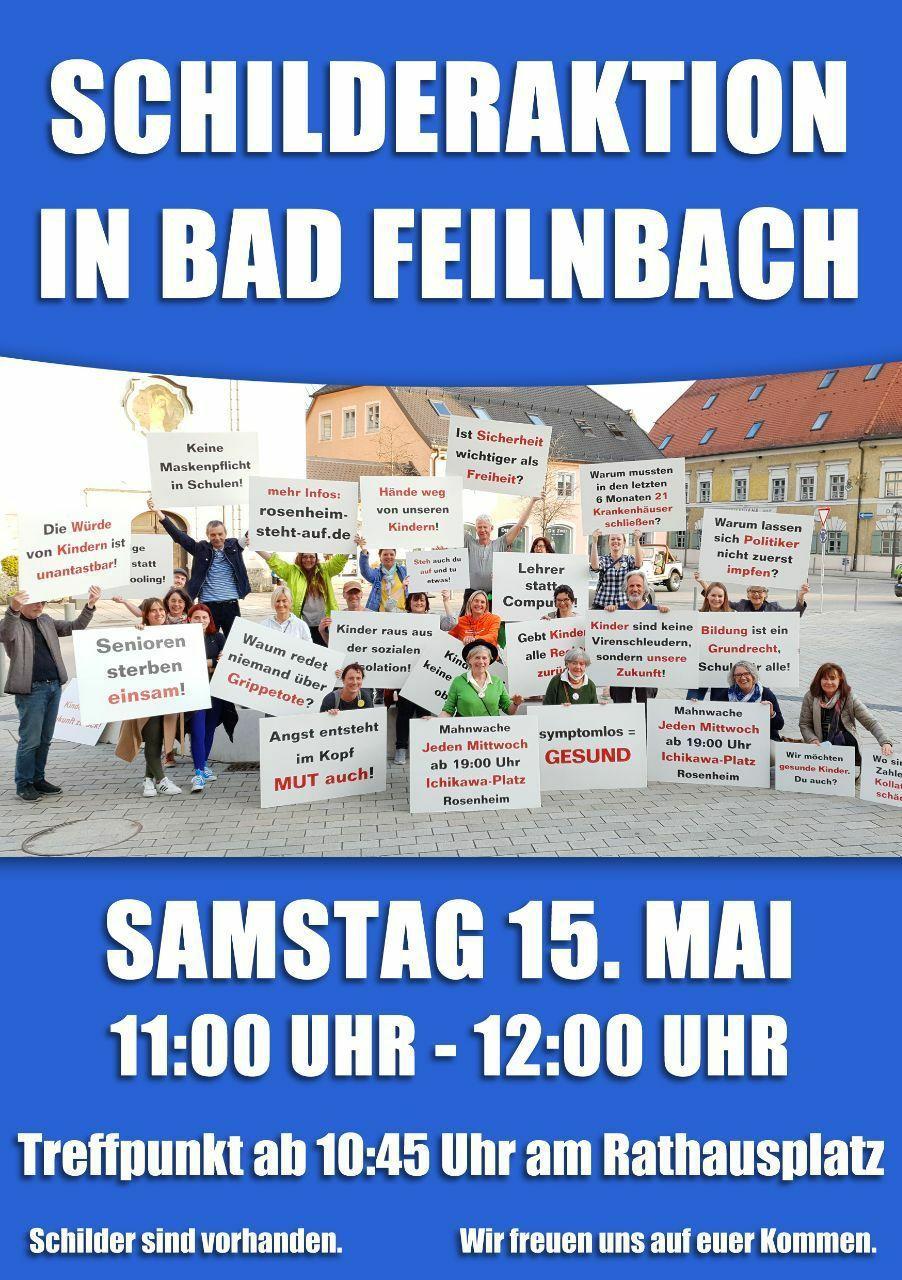 Schilderaktion Bad Feilnbach