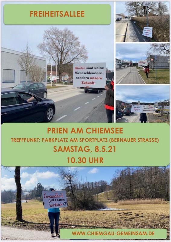 Chiemgau gemeinsam - Freiheitsallee
