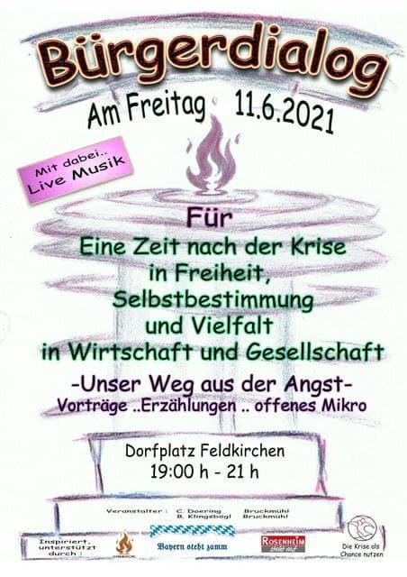 Bürgerdialog Feldkirchen 11.06.2021
