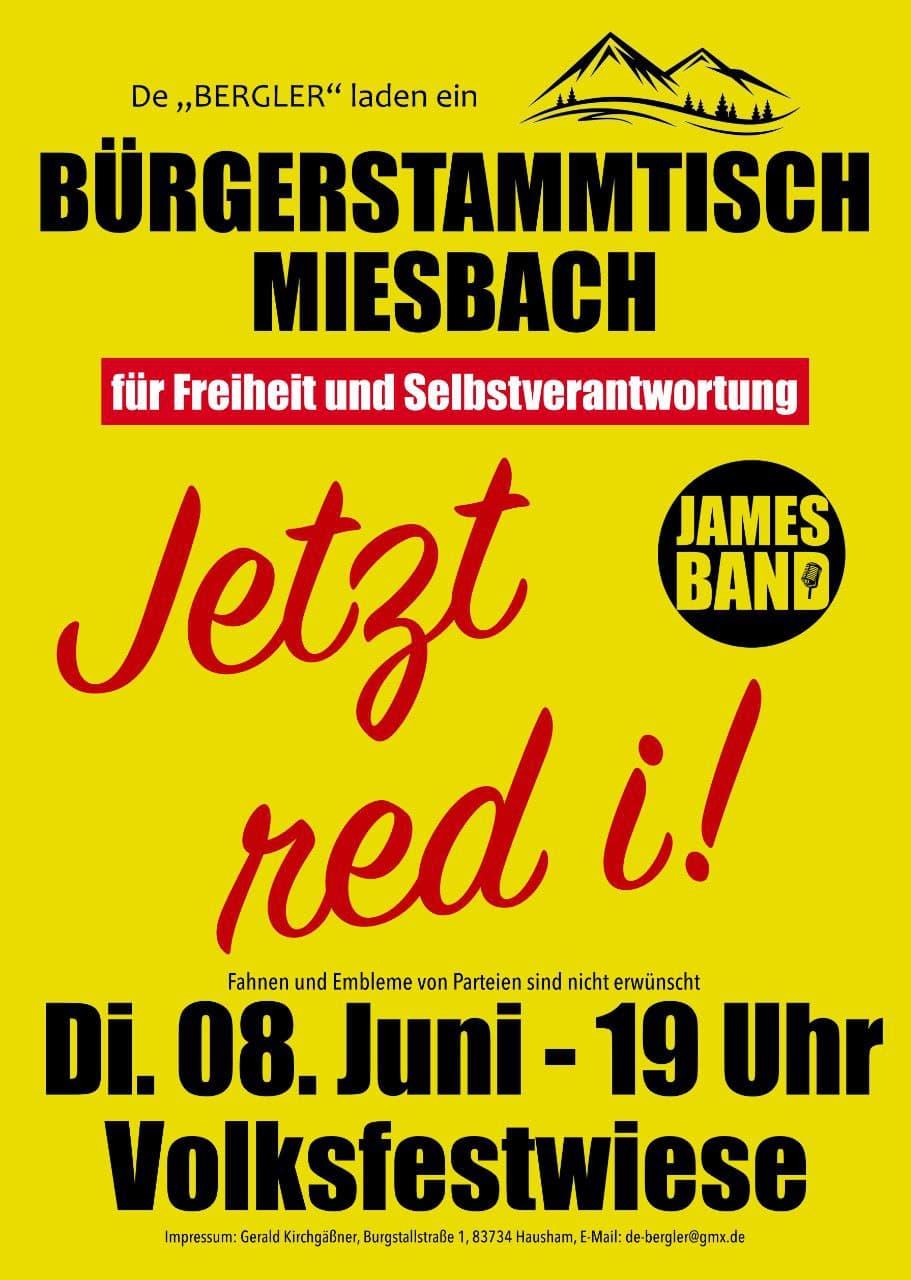Bürgerstammtisch Miesbach 08.06.2021