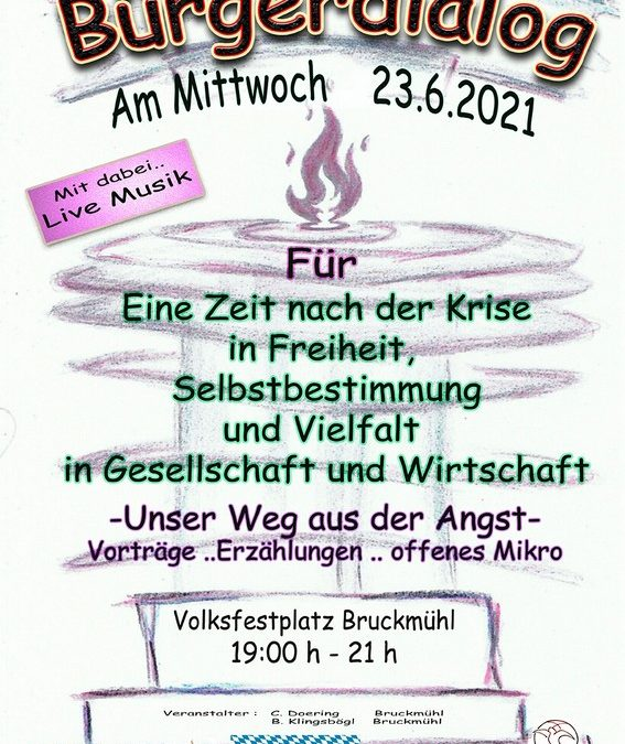 Bürgerdialog Bruckmühl 23.06.2021