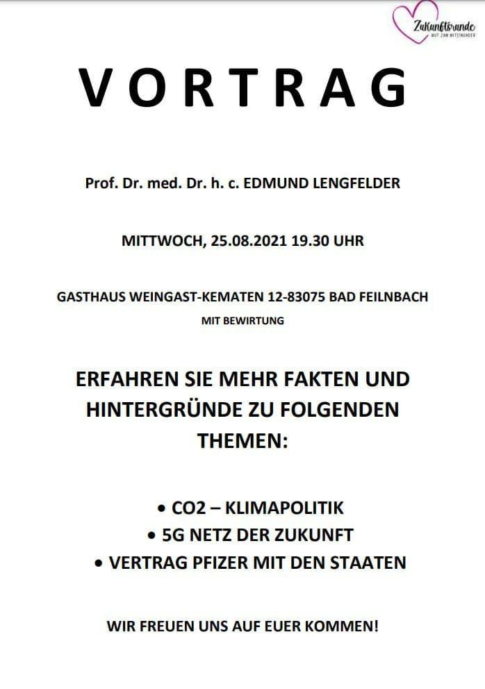 Vortrag Prof. Lengfelder, Fakten und Hintergründe